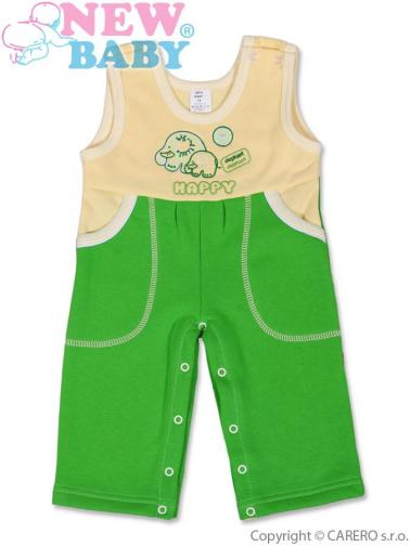 Dětské lacláčky vel. 92 New Baby Happy zelené