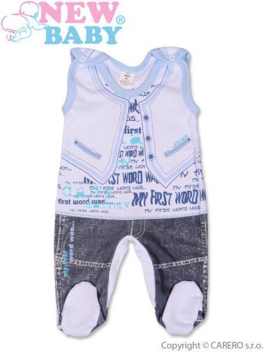 Kojenecké dupačky vel. 74 New Baby Jeans modré