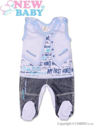 Kojenecké dupačky vel. 68 New Baby Jeans modré