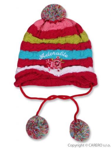 Dětská zimní čepička Adorable