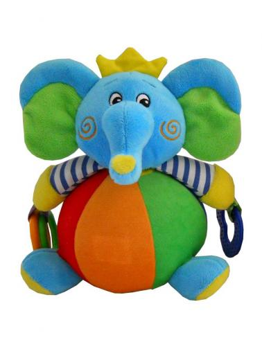 Dětská plyšová edukační hračka Baby Mix slon