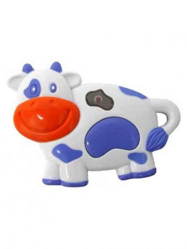 Dětská hračka se zvukem Baby Mix kravička
