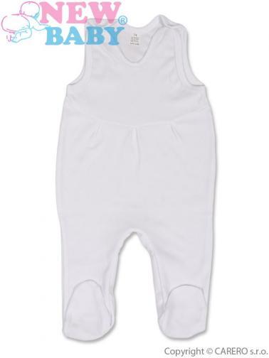 Bílé kojenecké dupačky vel. 86 New Baby proužek