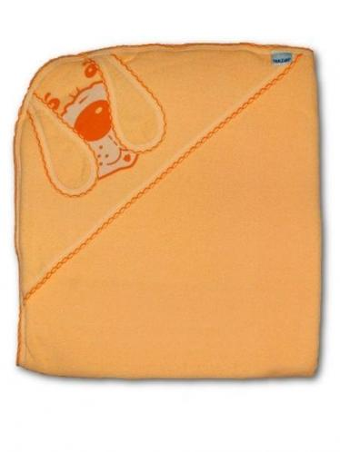 Dětská osuška pejsek Oranžová