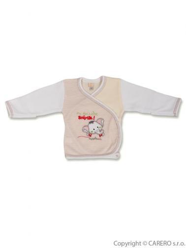 Kojenecká košilka vel. 68 Koala Oli béžová