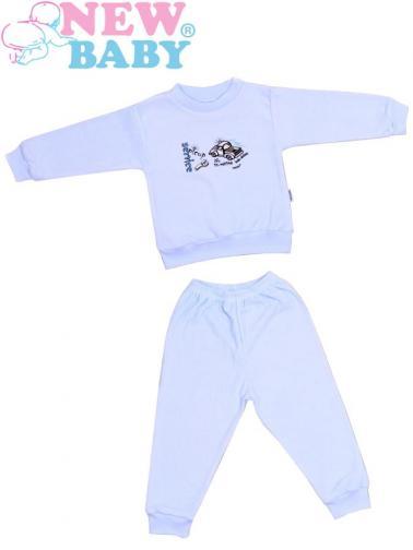 Dětské froté pyžamo vel. 92 New Baby modré