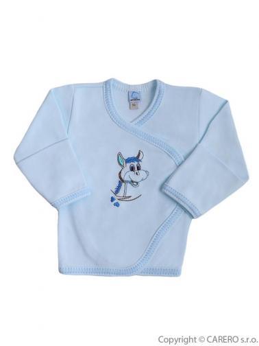 Kojenecká košilka vel. 68 Bobas Fashion Oslík modrá