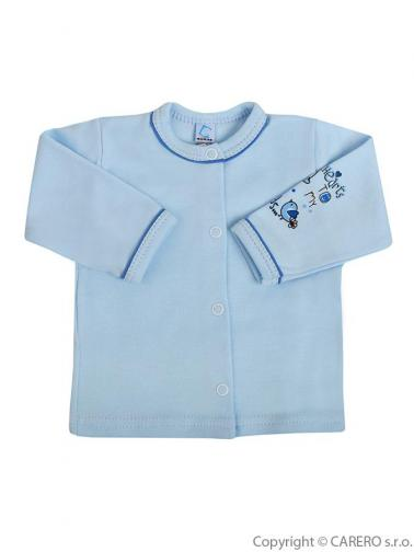 Kojenecký kabátek vel. 68 Bobas Fashion Benjamin modrý
