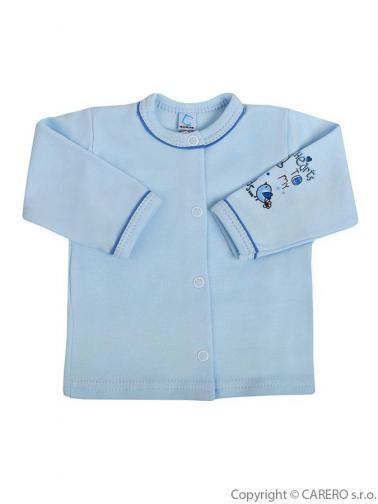Kojenecký kabátek vel. 74 Bobas Fashion Benjamin modrý