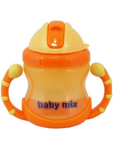 Dětský kouzelný hrneček Baby Mix 200 ml orange Oranžová