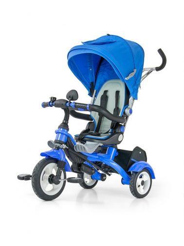 Dětská tříkolka Milly Mally Tomy blue Modrá