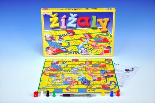 Žížaly společenská hra v krabici 33x23x3cm
