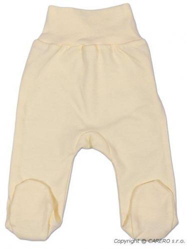 Béžové kojenecké polodupačky vel. 68 New Baby