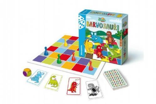 Barvosauři společenská hra v krabici 20x20x5cm