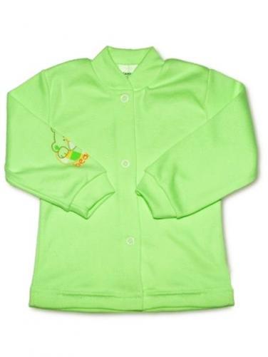 Zelený kojenecký kabátek vel. 56 New Baby