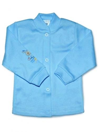 Modrý kojenecký kabátek vel. 62 New Baby
