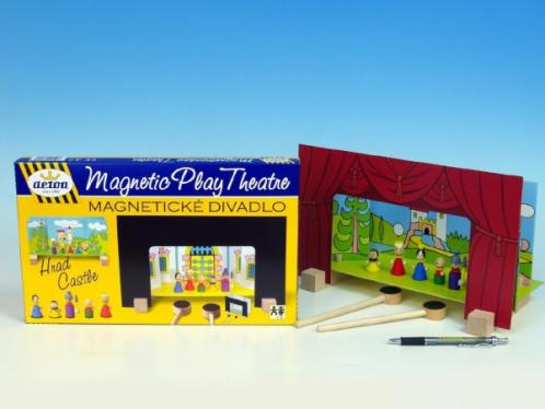 Divadlo Hrad magnetické v krabici 33,5x20x3,5cm