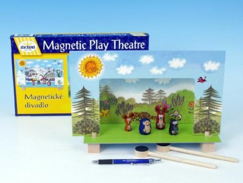 Divadlo Krtek magnetické v krabici 33x23x3,5cm