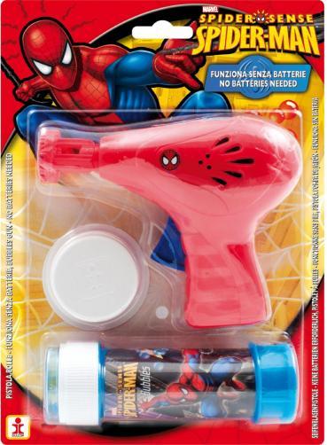 Bublifuková pistole Spider Man