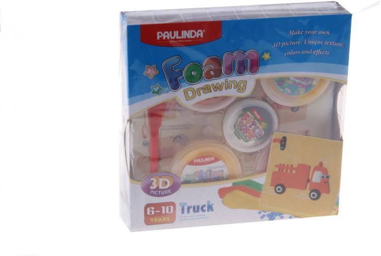 Foam Drawing – kreativní sada Nákladní auto