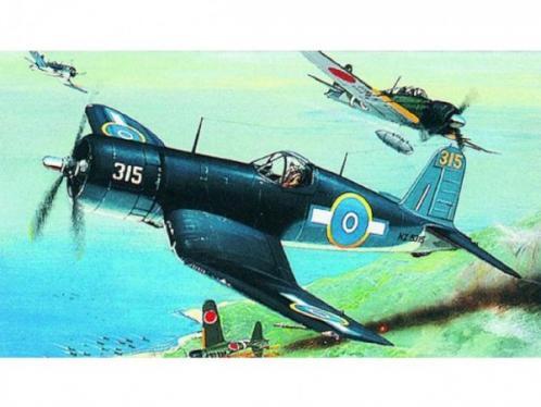 Model F4U-1 Corsair 14,1x17,3cm v krabici 25x14,5x4,5cm