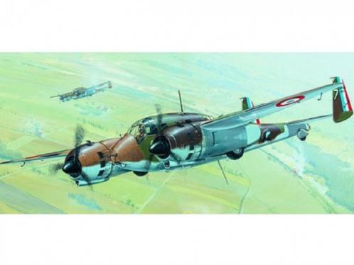 Model Breguet 693 13,2x21cm v krabici 31x13,5x3,5cm