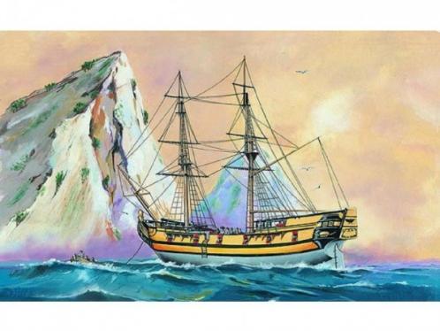 Model Black Falcon Pirátská loď 1:120 24,7x27,6cm v krabici 34x19x5,5cm