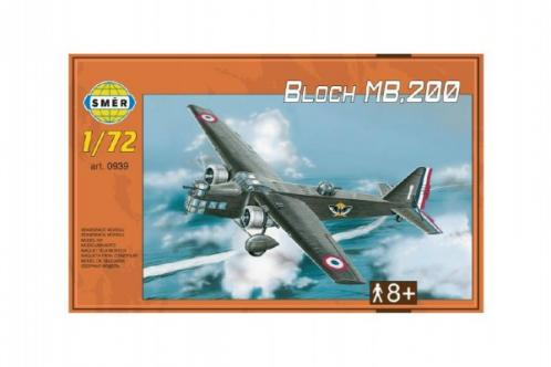 Model Bloch MB.200 31,2x22,3cm