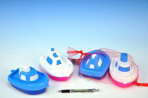 Loď - Člun do vany plast 14cm 2ks v sáčku