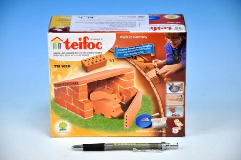 Stavebnice Teifoc Domek Pigs v krabici 18x15x8cm
