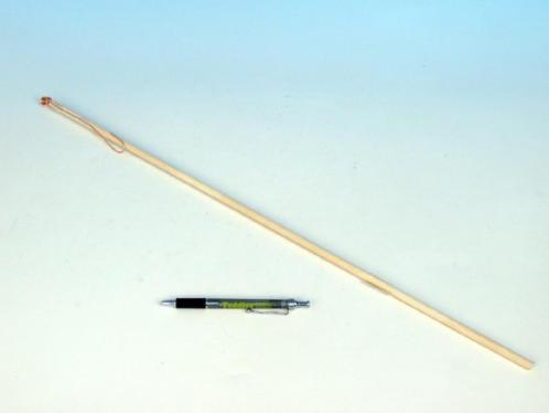 Hůlka k lampionu dřevo 60cm karneval