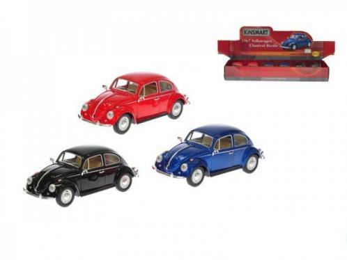 Auto Kinsmart VW Classical Beetle 1967 1:24 kov 17cm asst 3 barvy