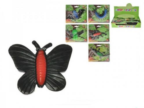 Zvířátko gelové 10-13cm sliz 6 druhů asst 3 barvy