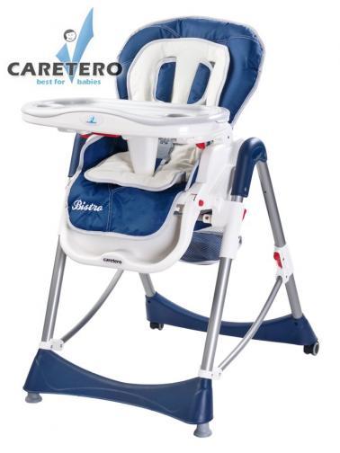 Židlička CARETERO Bistro navy Modrá
