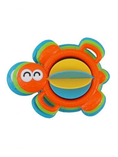 Edukační hračka do koupele Baby Mix želvička Oranžová