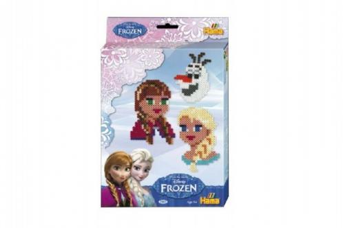 Zažehlovací korálky + podložka 2000ks plast Ledové království/Frozen