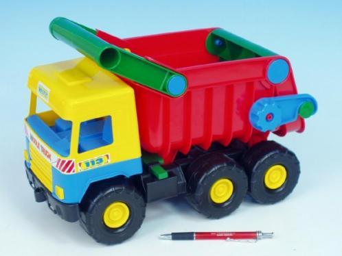 Auto middle Truck sklápěč plast 38cm asst Wader