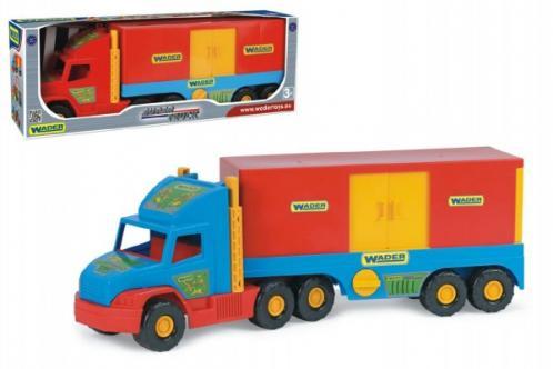 Auto Super Truck kontejner plast 78cm Wader