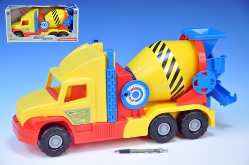 Auto Super Truck domíchávač Wader 53cm asst 2 barvy
