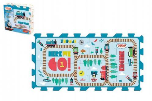 Pěnové puzzle Tomáš a přátelé/Disney 8ks 32x32x1,5cm