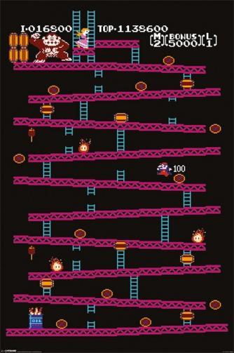 Posters Plakát, Obraz - Donkey Kong - NES, (61 x 91,5 cm)