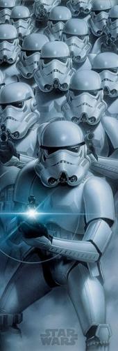 Posters Plakát, Obraz - Star Wars - Stormtroopers, (53 x 158 cm)