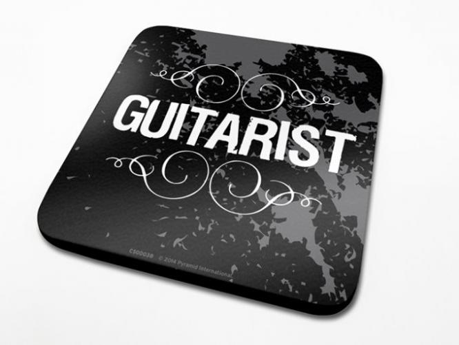 Posters Podtácek Guitarist