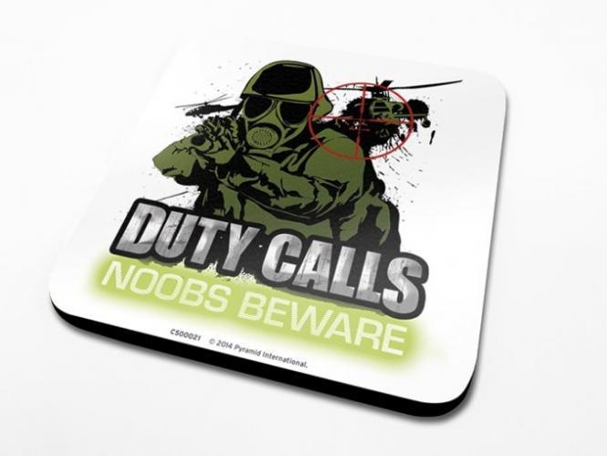 Posters Podtácek Duty Calls