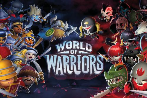 Posters Plakát, Obraz - World of Warriors - Characters, (91,5 x 61 cm)