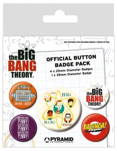 Posters Placka The Big Bang Theory (Teorie velkého třesku) - Characters