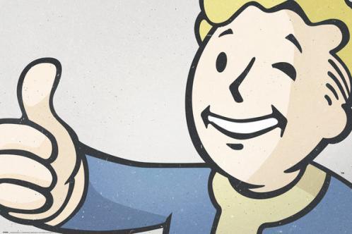 Posters Plakát, Obraz - Fallout 4 - Vault Boy, (91,5 x 61 cm)