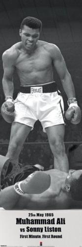 Posters Plakát, Obraz - Muhammad Ali vs. Sonny Liston, (53 x 158 cm)
