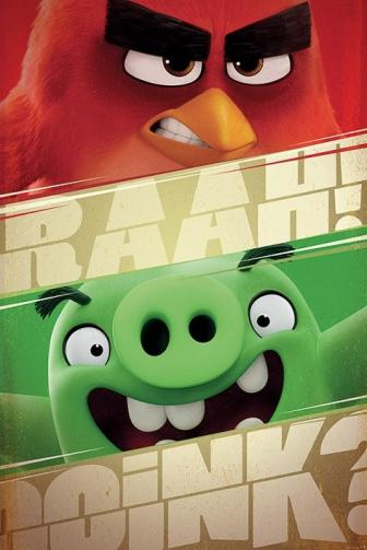 Posters Plakát, Obraz - Angry Birds - Raah!, (61 x 91,5 cm)