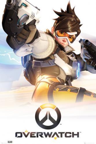 Posters Plakát, Obraz - Overwatch - Tracer, (61 x 91,5 cm)